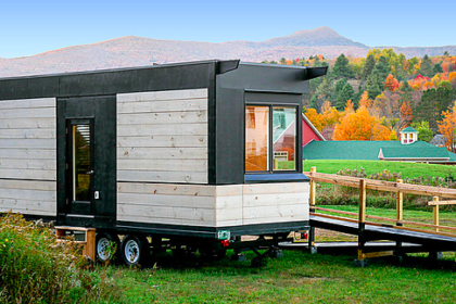 Wheel Pad, a a mini-modular mobile home