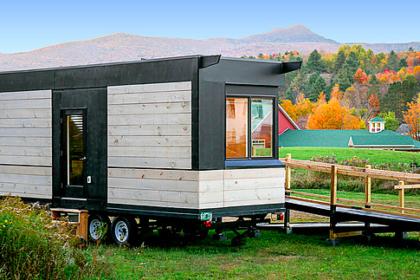 Wheel Pad, a a mini-modular mobile home