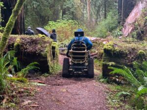 David's Chair – Bridging the gap of outdoor recreation for wheelchair users